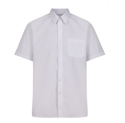 Slim-Fit White Shirts (twin pack)