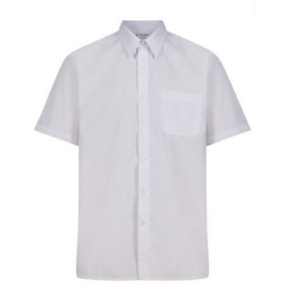 Slim-Fit White Trutex Shirts (twin pack)