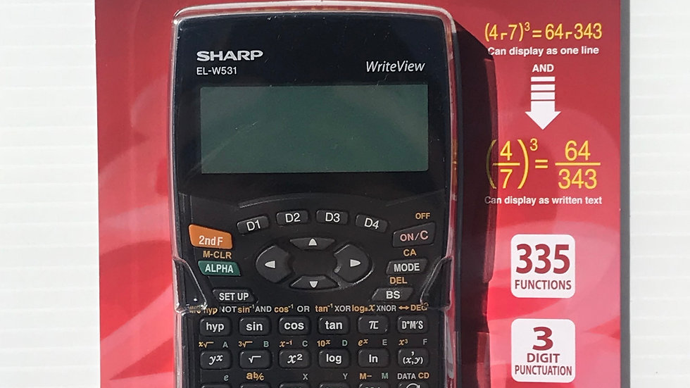 sharp calculator  ELW531