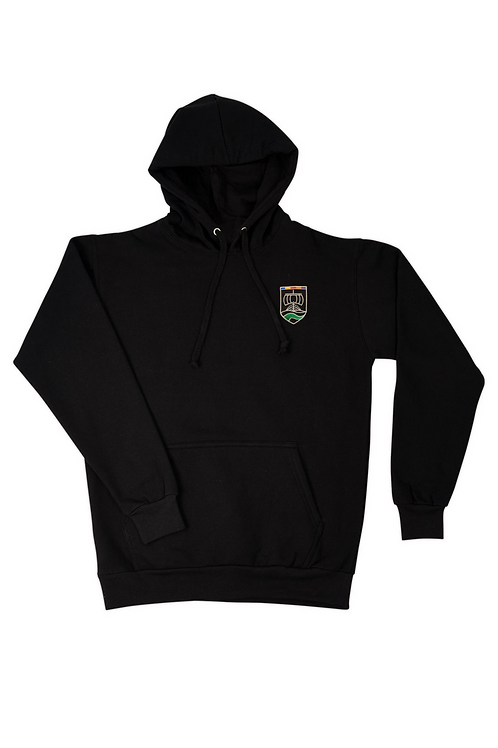 Black Hoody with Neston Logo and Print