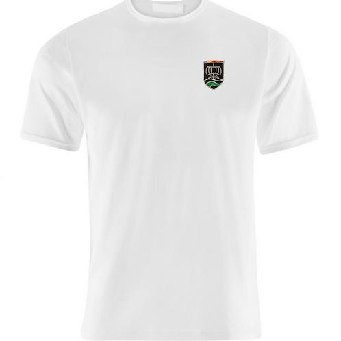 White PE Tshirt with Neston Logo (Boys)