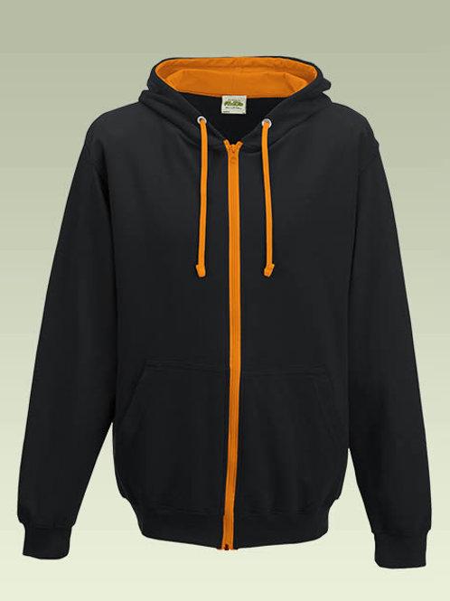 Black / Orange AWD Varsity Zoodie JH053