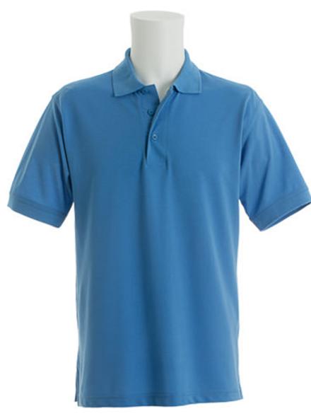 Mid Blue KK403 Men's Kustom Kit Polo