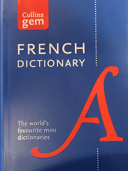 French /English pockey dictionary
