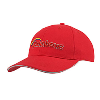 Rainbow Embroidered Baseball Cap