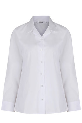 White Trutex Rever Blouse (Twin Pack)