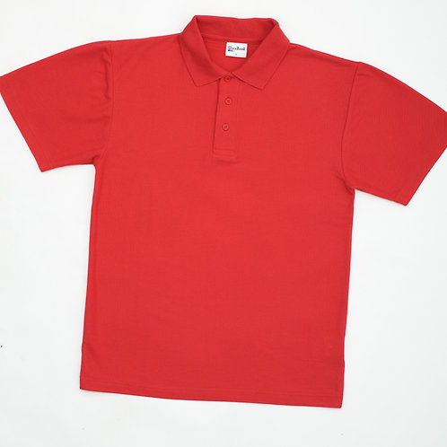 Red Polo Shirt with Eastway Logo