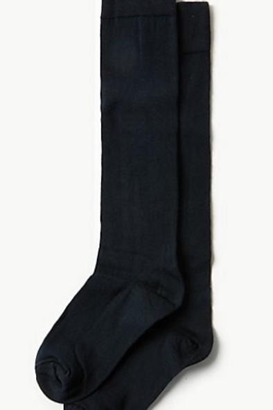 3 Pack of Girls Knee High Socks