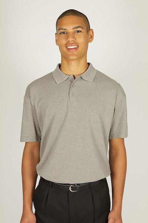 Plain Marl Grey Trutex Polo