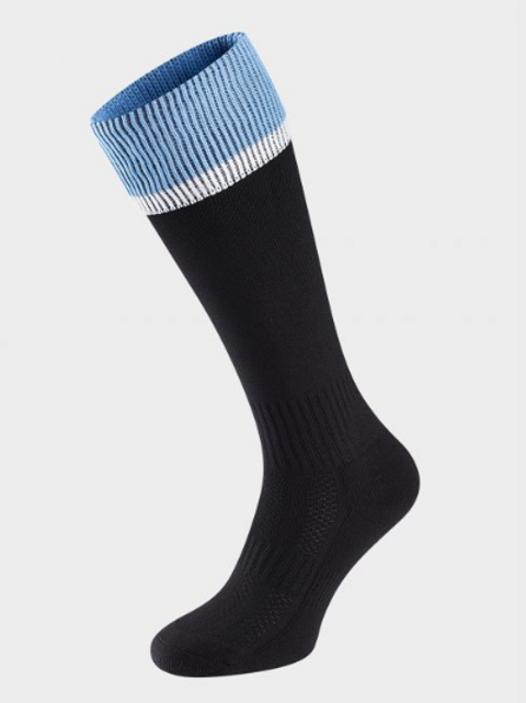 Sky and Navy Green Meadow Sports Socks