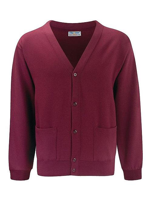Claret  'Blue Max'  Sweatshirt Cardigan