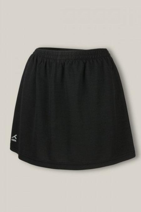 Plain Black PE Skort
