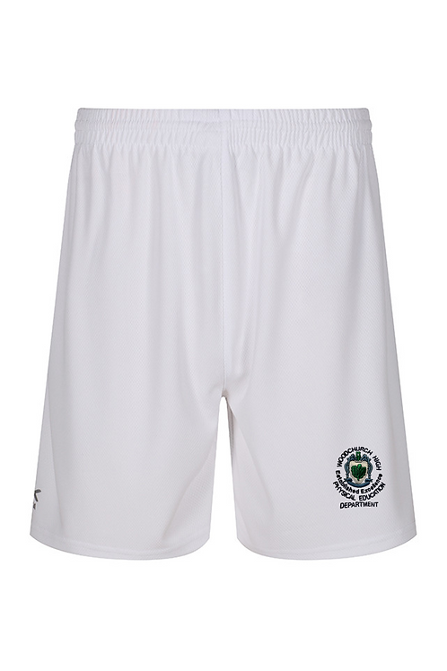 White Woodchurch PE Shorts (Boys)