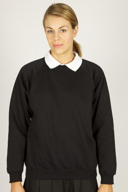 Black PE Sweatshirt with Hilbre Logo