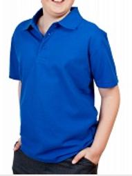 Royal Blue Woodbank Polo