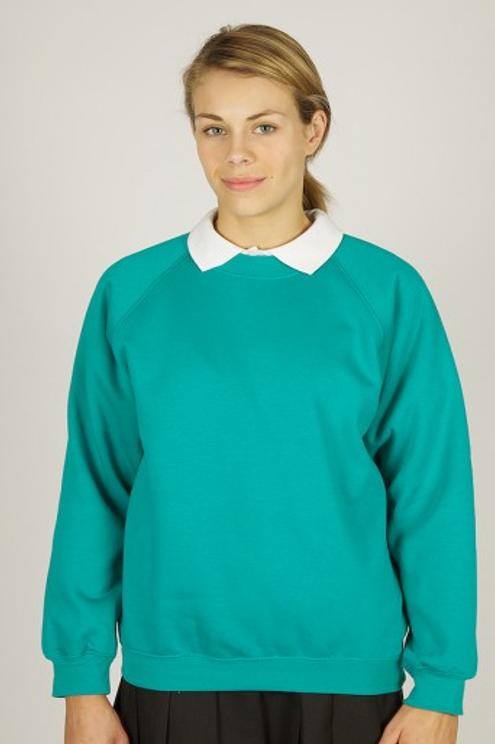 Jade Sweatshirt with Meadowside  Logo