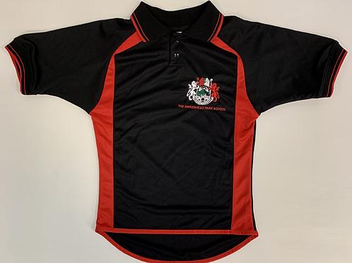 Black /Red Birkenhead PE Polo Shirt (Girls)