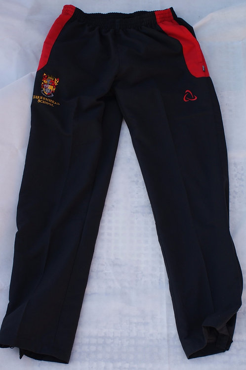Black and Red Tracksuit Bottoms