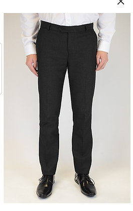 Boys Black Caribou Slim Fit Trousers