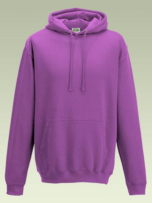 Pinky Purple AWD College Hoodie (JH001)