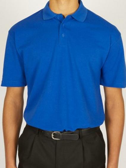 Royal Polo Shirt with Jack and Jill Nursery Logo