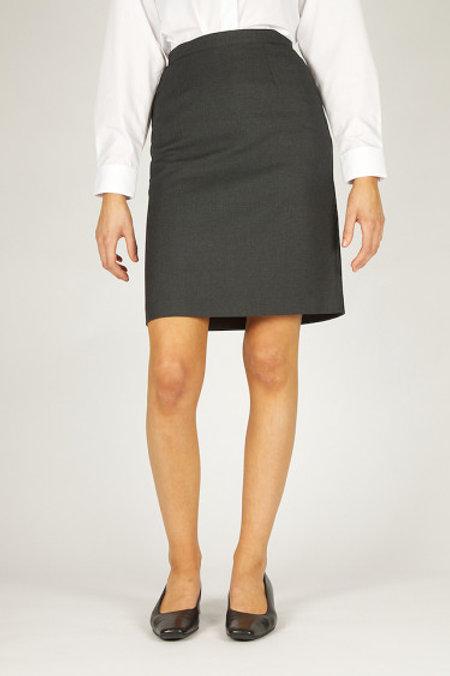 Grey Trutex A-Line Senior Skirt