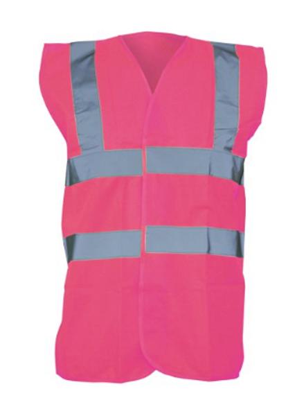 Raspberry Hi-Vis Vest  (Yoko YK001)