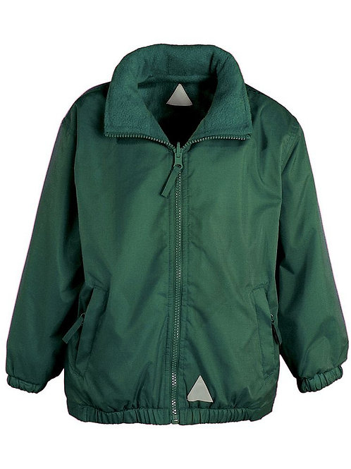 Animal Management Bottle Green Reversible Jacket