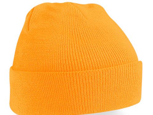 Fluorescent Orange B45 Original Cuffed Beanie