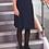 Thumbnail: Navy Multipleat Senior Skirt