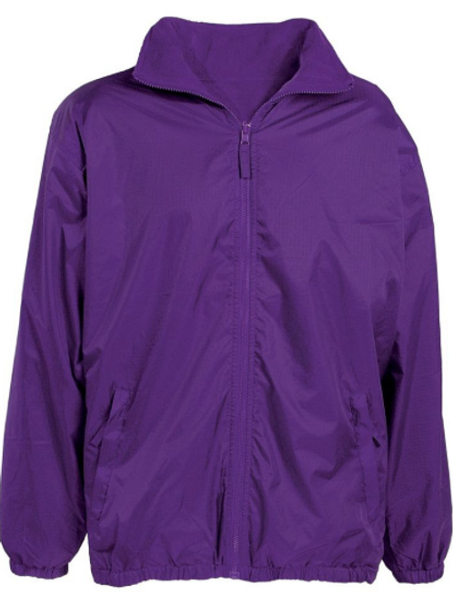 The Mistral Reversible Jacket in Purple