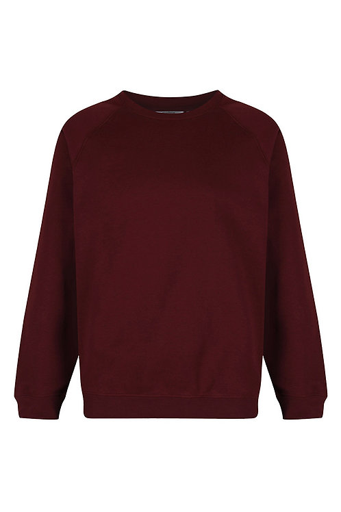 Maroon Sweatshirt with school badge