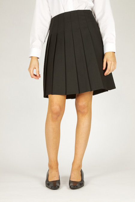 Black Knifepleat Senior Skirt