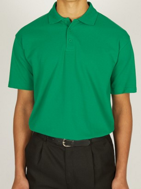 Green Polo Shirt with Irby Pre Logo