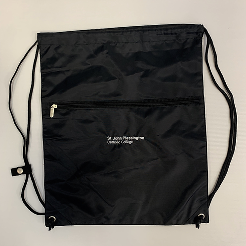 Black PE Bag with SJP Logo Embroidered