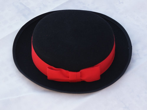 Black School Hat