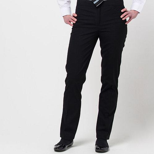 Sixth Form Girls Black Slim Fit Trousers