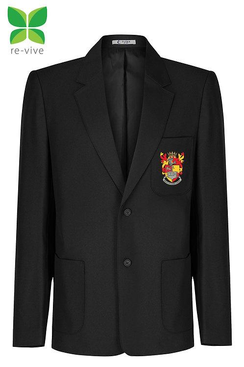 Black Prep Blazer with School logo