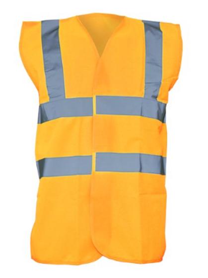 Orange Hi-Vis Vest  (Yoko YK001)