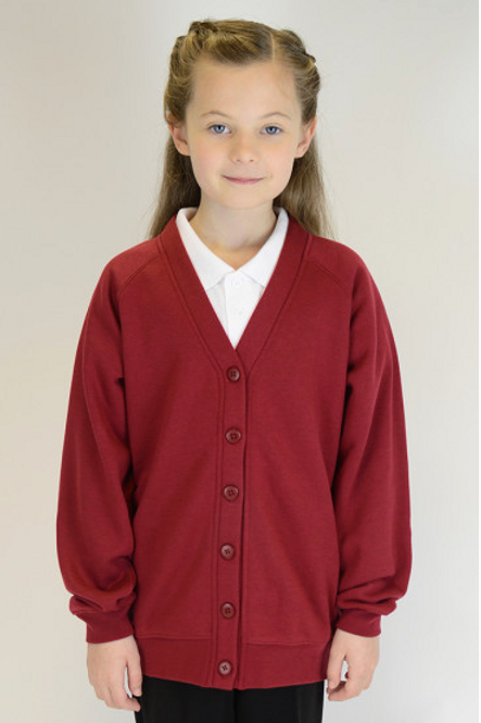 Wine Plain Trutex Sweatcardy