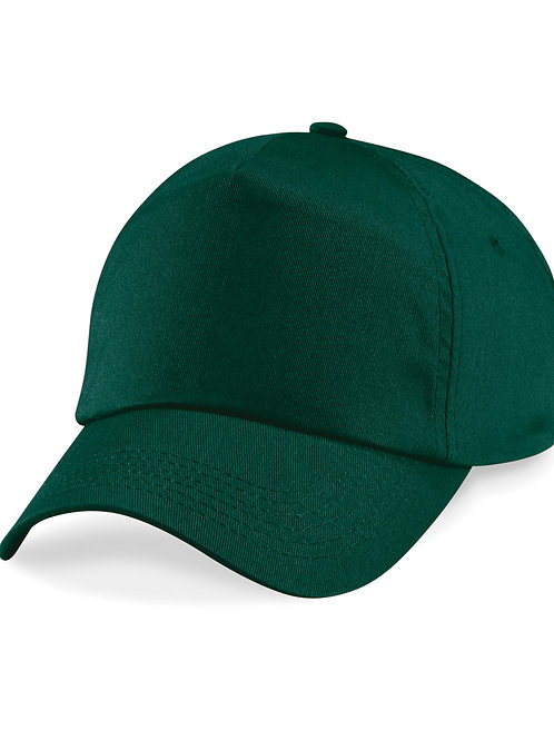 Bottle Green Beechfield Baseball Cap