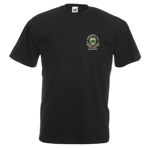 Black Woodchurch Dance T-shirt