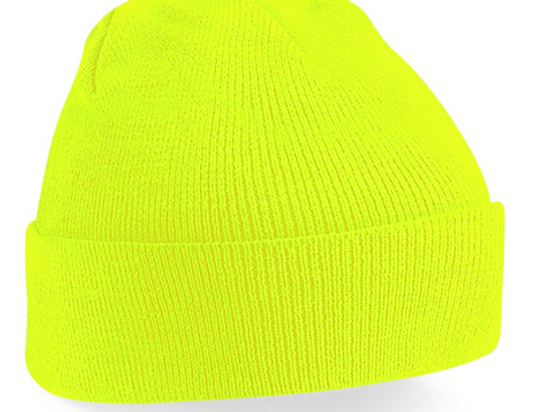 Fluorescent Yellow B45 Original Cuffed Beanie