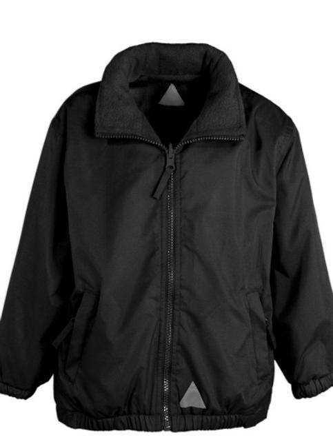 The Mistral Reversible Jacket in Black