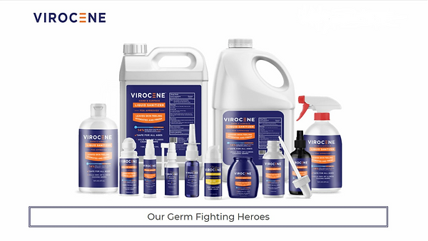 Virocene FDA Approved Sanitizer_Emergenc