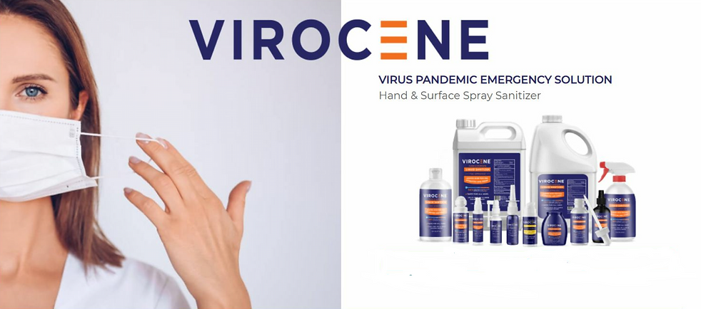 Virocene_FDA Approved Sanitizer_Emergenc