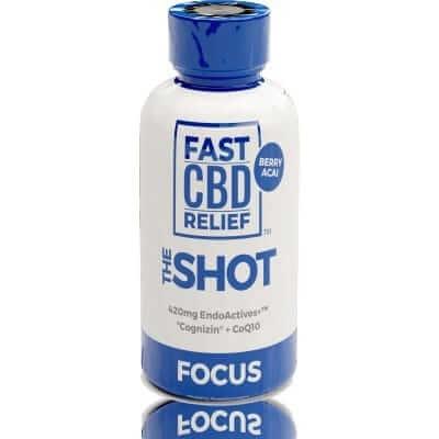 FAST CBD RELIEF™ Focus Liquid CBD Vitamin Shot