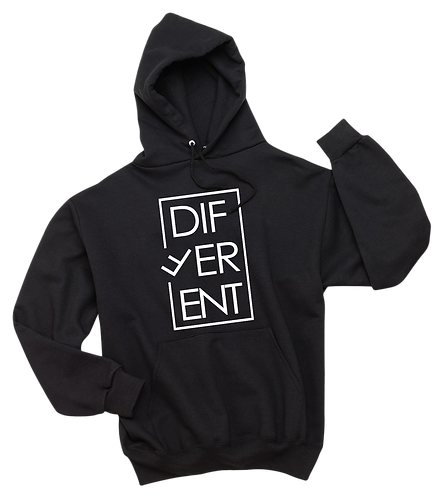 """DIFFERENT"" HOODIE"