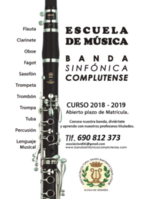 Escuela de música - Banda Sinfónica Comp