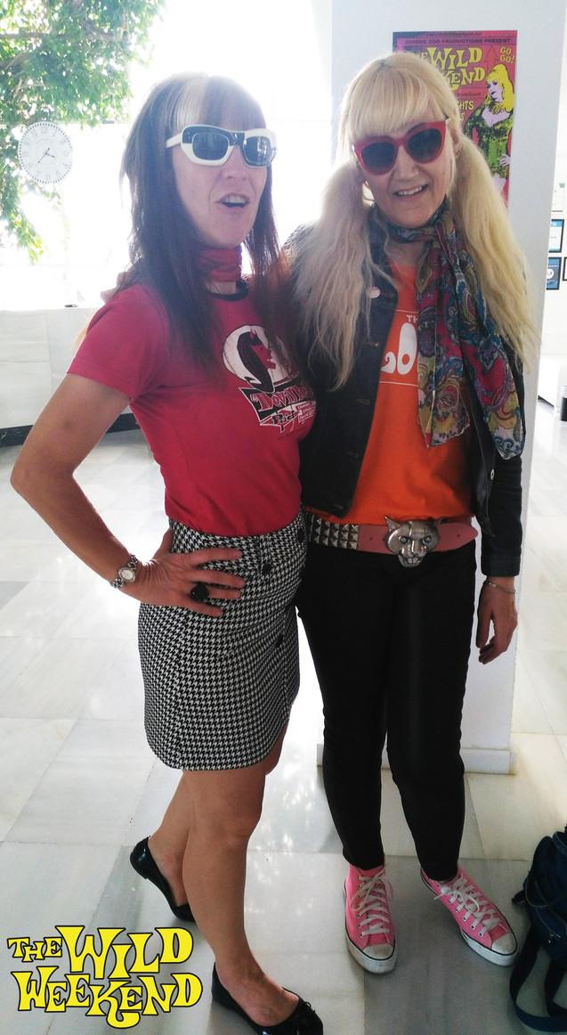 Babz & Anouschka Reunite